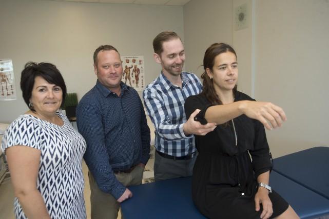 La clinique de physiothérapie Myo Physio a récemment... (Stéphane Lessard)