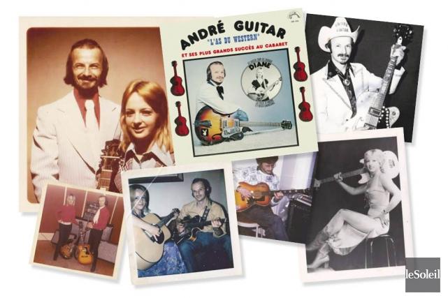 André Leboeuf, alias André Guitar, l'auteur du mégasuccèsLa... (Infographie Le Soleil)