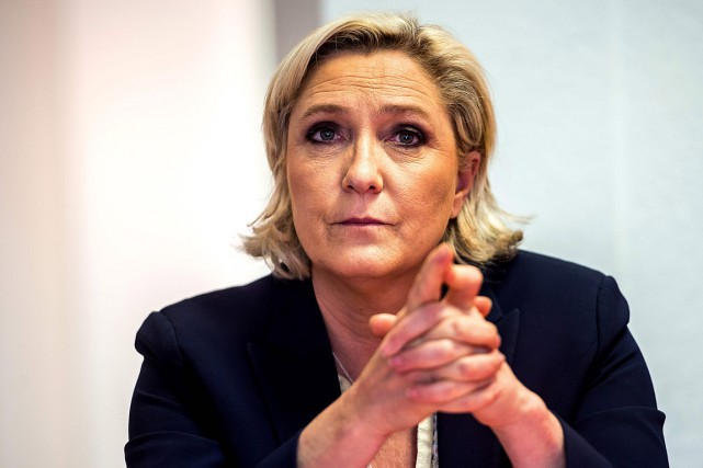 La chef du Front national, Marine Le Pen... (PHOTO PHILIPPE HUGUEN, ARCHIVES AGENCE FRANCE-PRESSE)