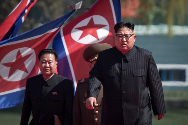 Le leader nord-coréen, Kim Jong-un... (PHOTO ED JONES, ARCHIVES AFP/ED JONES)