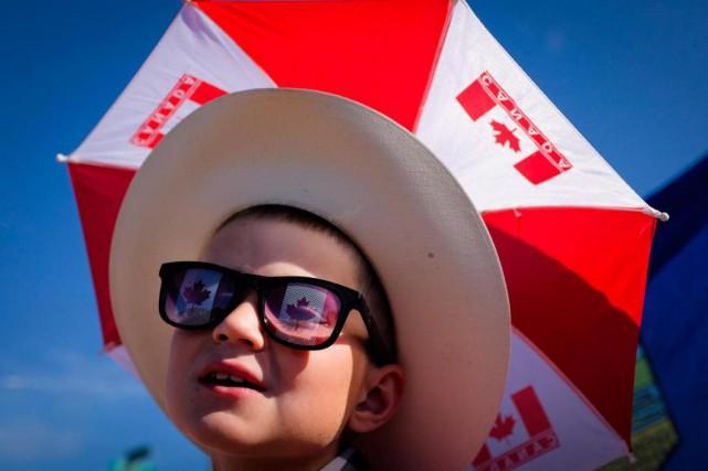 Bien que la fête du Canada soit officiellement soulignée samedi, certains... (PHOTO JEFF McINTOSH, ARCHIVES LA PRESSE CANADIENNE)