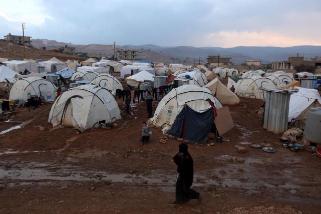 L'armée libanaise a effectué des descentes dans des... (Photo Bilal Hussein, AP)
