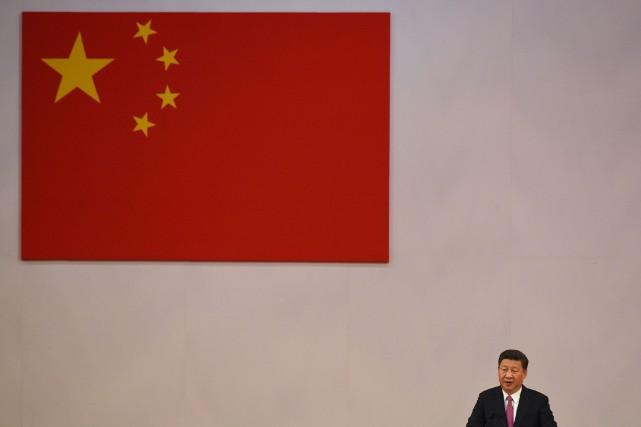 Le président chinois a lancé un avertissement dans... (Photo AFP)