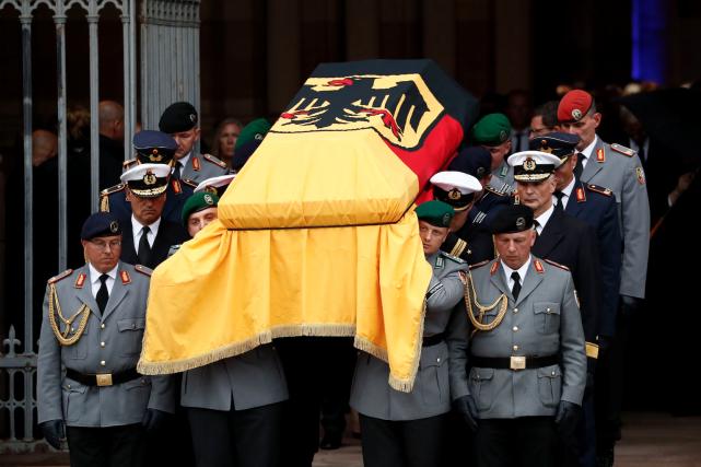 Helmut Kohl, qui est décédé le 16 juin... (AFP, Odd Andersen)