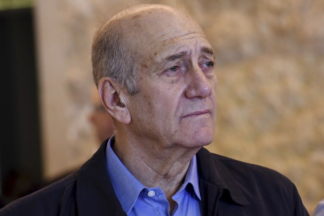 .Ehud Olmert... (Archives AP, Debbie Hill)