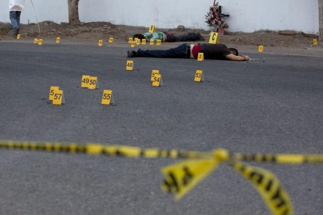 Plus de 760 personnes ont été assassinées depuis... (AP, Enric Marti)