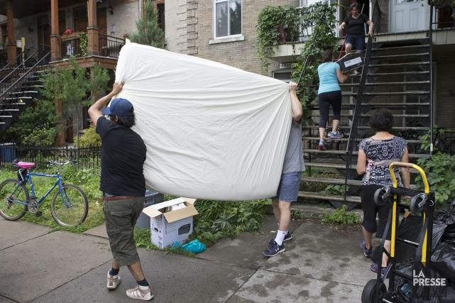 L'an dernier, au Québec, le taux d'inoccupation des... (PHOTO ROBERT SKINNER, LA PRESSE)