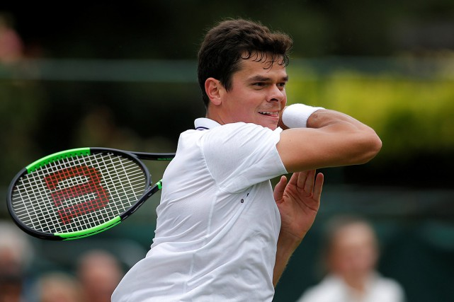 Milos Raonic entamera son parcours mardi contre le 50e joueur... (Photo Andrew Couldridge, archives Reuters/Action Images)