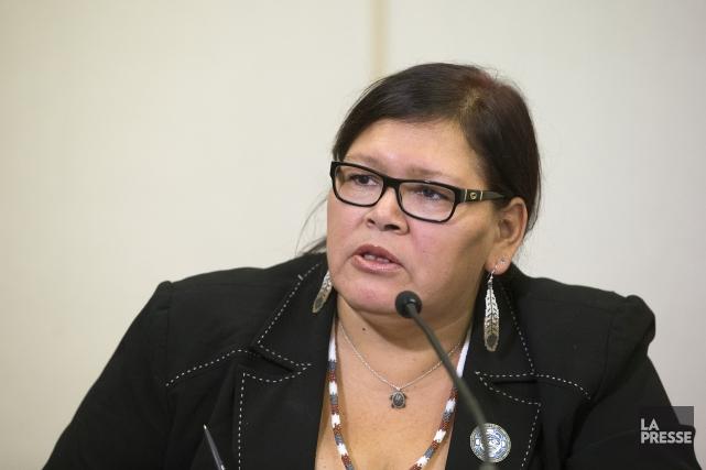 Viviane Michel souligne que Femmes autochtones du Québecet... (Robert Skinner, Archives la Presse)