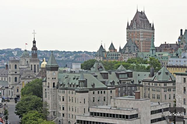 Québec souffle 409 bougies ce 3 juillet et fêtera en grand. «Festive,... (Photothèque Le Soleil, Patrice Laroche)