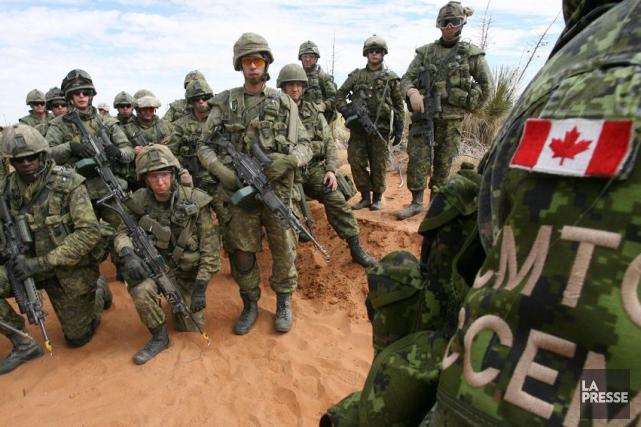 Éditorial / Ottawa vient de prolonger la mission de l'armée canadienne contre... (Archives, La Presse)