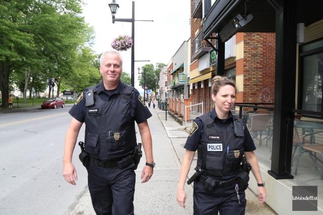 Le plus grand avantage d'un service de police... (archives La Voix de l'Est)