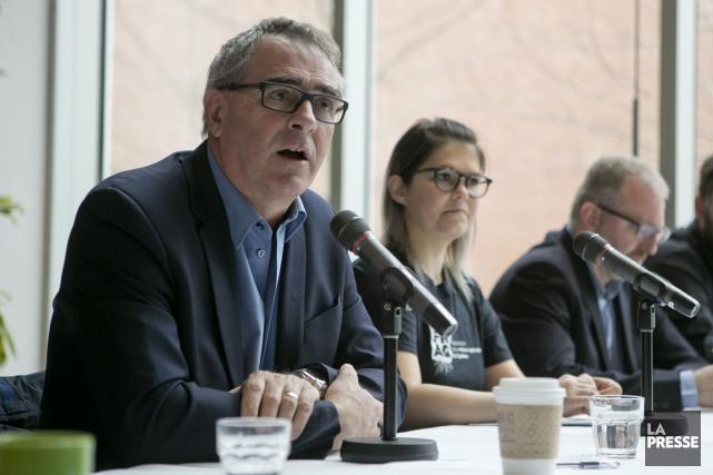 Le président del'Union des producteurs agricoles (UPA), Marcel... (David Boily, Archives La Presse)