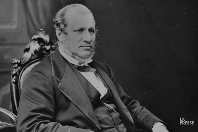 Alexander Tilloch Galt, député de Sherbrooke à l'assemblée... (Photo fournie, Société d'histoire de Sherbrooke)