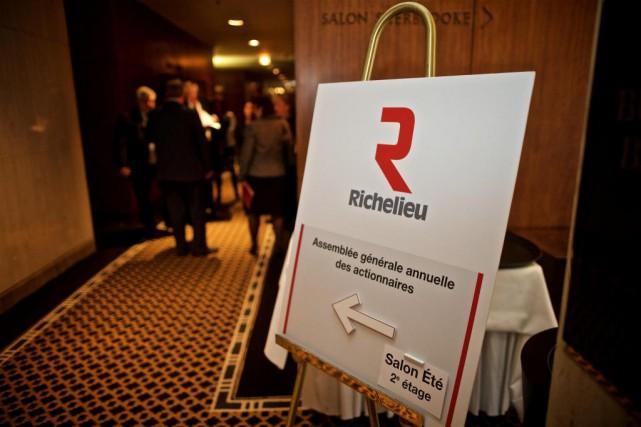 Le quincailler Richelieu dévoilera en matinée jeudi les...