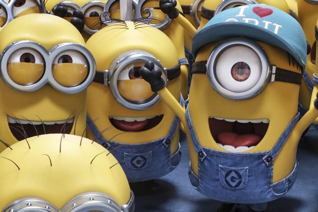Despicable Me 3 a raflé la première place du box-office américain pour... (Photo fournie par Illumination et Universal Pictures)