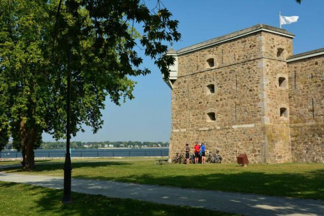 Fort-Chambly, en Montérégie, est inscrit sur la liste... (PHOTO FOURNIE PAR TOURISME MONTRÉAL)