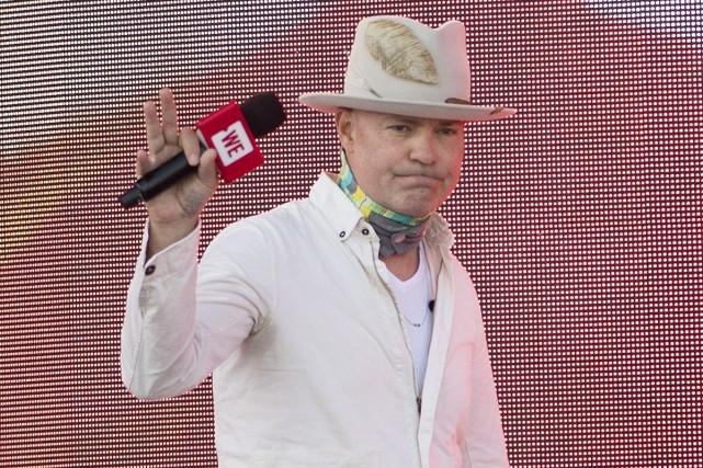 Gord Downie a fait une rare apparition publique,... (PHOTO LA PRESSE CANADIENNE)