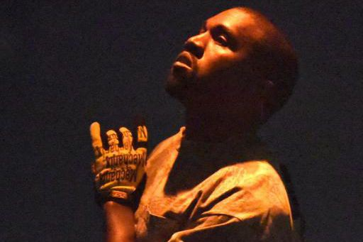 Kanye West... (PHOTO ROB GRABOWSKI, ARCHIVES ASSOCIATED PRESS)