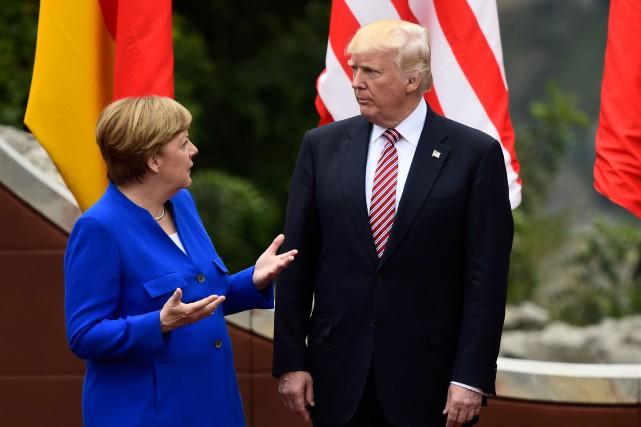 Les dissensions entre la chancelière allemande et le... (PHOTO AFP)