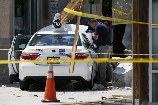 L'incident, qui fait l'objet d'une enquête, est survenu... (PHOTO AP)