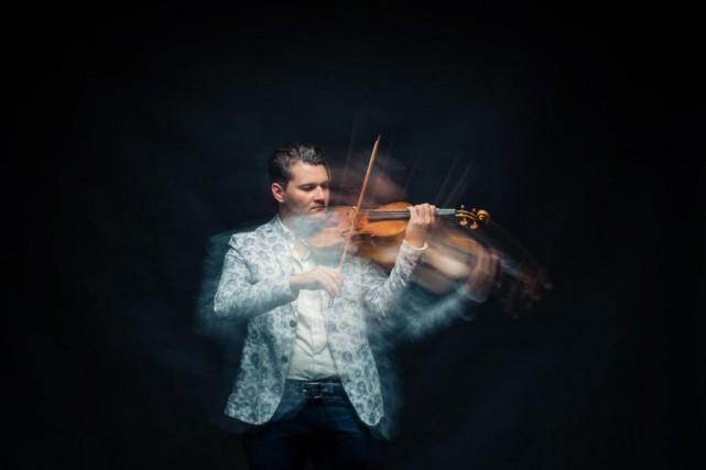 Le violoniste Alexandre Da Costa... (PHOTO EDOUARD PLANTE-FRéCHETTE, lA PRESSE)