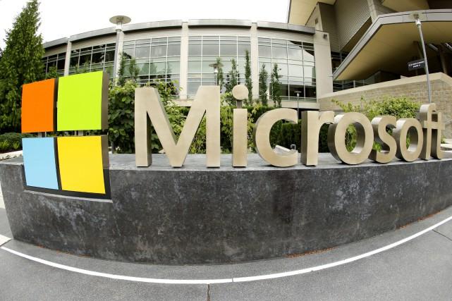 Microsoft «prépare une réorganisation de ses équipes commerciales... (PHOTO ARCHIVES AFP)