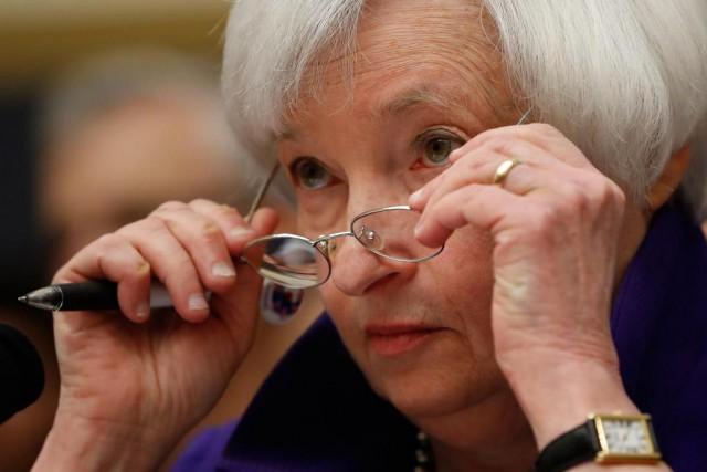 La présidente de la Fed, Janet Yellen.... (PhotoPablo Martinez Monsivais, archives Associated Press)