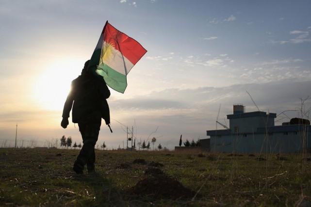 Une représentante kurde de passage à Ottawaa lié... (Archives AFP)