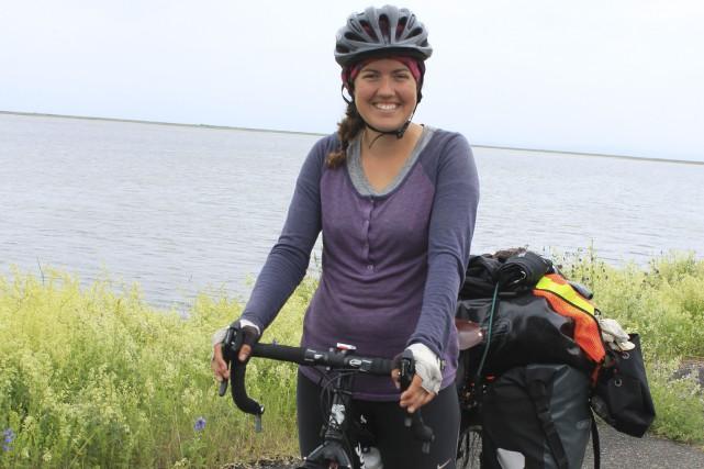 Adrienne Cyr est rentrée en Gaspésie le 1er... (Collaboration spéciale Gilles Gagné)