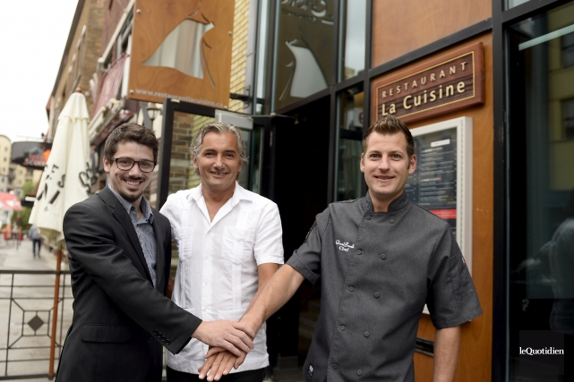 Le restaurateur Guillaume Bergeron cédera bientôt le restaurant... (Photo Le Quotidien, Jeannot Lévesque)