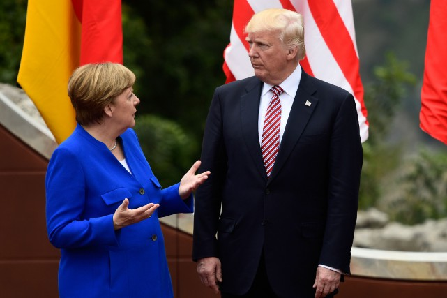 La dirigeante allemande a indiqué lundi s'attendre à... (Photo AFP)