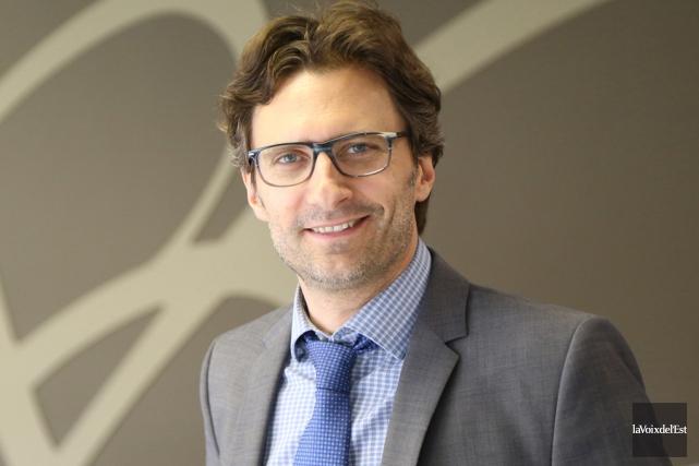 Le directeur général de Bromont, Éric Sévigny.... (La Voix de l'Est)