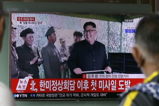 La Corée du Nord a affirmé mardi avoir... (Photo AP)