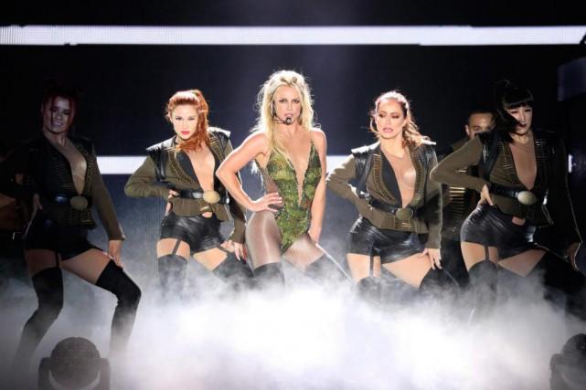 Britney Spears en concert à Tokyo dans le... (photoYoshika Horita, fournie par associated press)