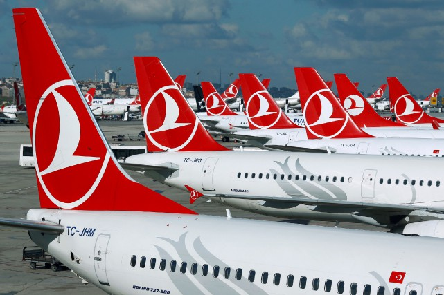 Turkish Airlines avait rapidement autorisé les passagers qui... (PHOTO ARCHIVES REUTERS)