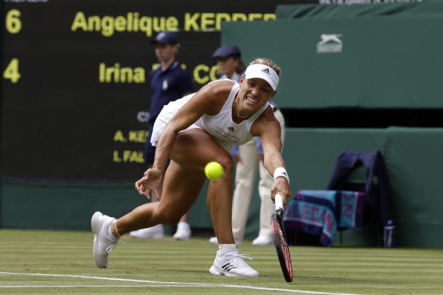Angelique Kerber... (Photo Alastair Grant, AP)