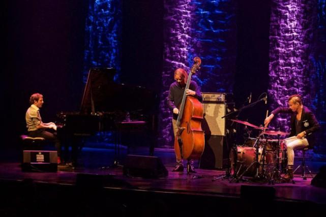 Le trio Phronesis était en concert hier au... (photo andré pichette, la presse)