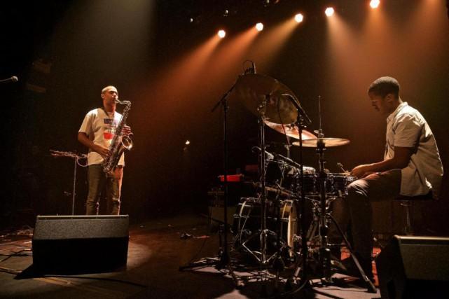 Binker & Moses en concert au Club Soda,... (Photo ANDRé PICHETTE, LA PRESSE)