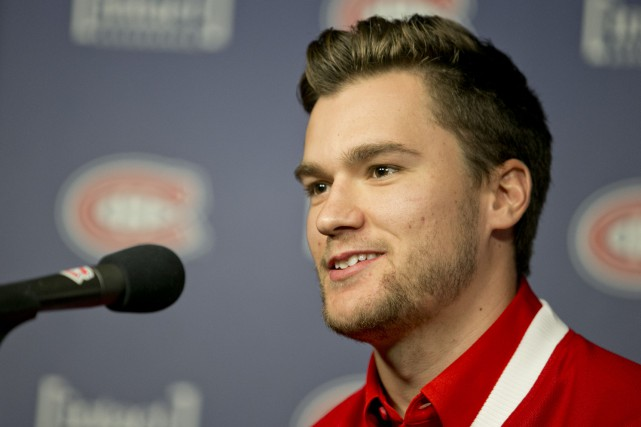 Jonathan Drouin... (Photo David Boily, La Presse)