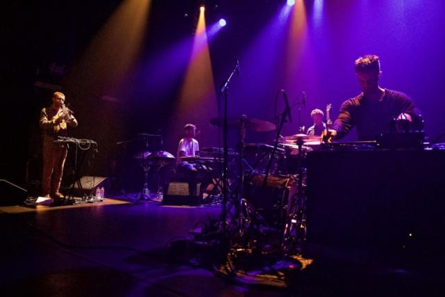 LePortico Quartet était en concert hier au Club... (photo andré pichette, la presse)