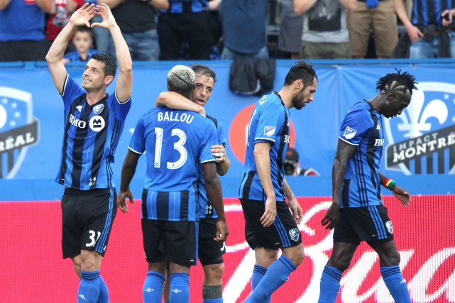 L'Impact disputera un sixième match en 19 jours, mercredi,... (Photo Jean-Yves Ahern, USA Today Sports)
