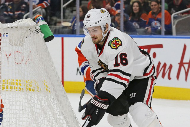Marcus Kruger... (Photo Perry Nelson, USA Today Sports)