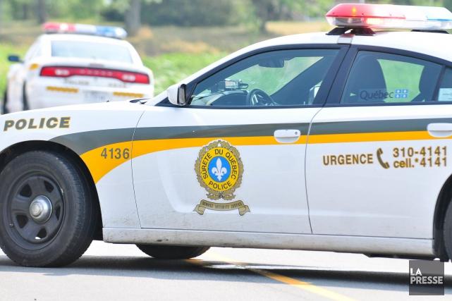La Sûreté du Québec (SQ) dresse le bilan d'une série de perquisitions survenues... (Archives La Presse)
