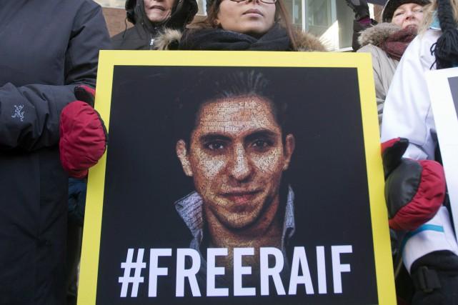 Le blogueurRaïf Badawi est emprisonné depuis maintenant plus... (Archives La Presse canadienne)
