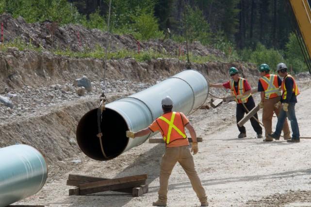 Le deuxième trimestre a été particulièrement marqué par... (Photo Kinder Morgan Canada)