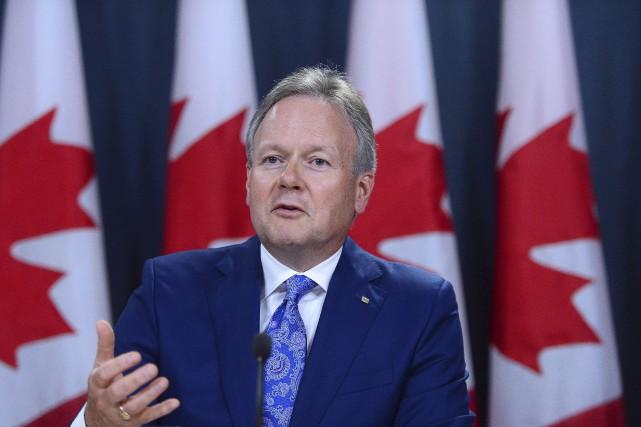 Le gouverneur de la Banque du Canada, Stephen... (La Presse canadienne, Sean Kilpatrick)