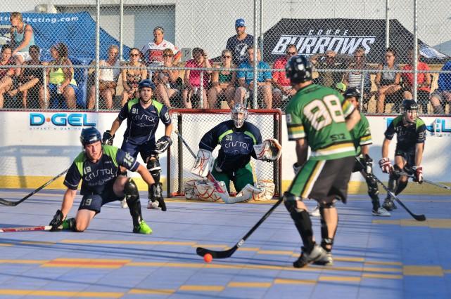 Trois-Rivières accueillera le premier tournoi de dek hockey... (Archives)