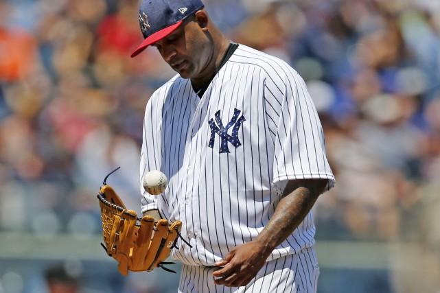 L'artilleur partant des Yankees de New York, CC... (AP, Kathy Willens)