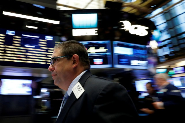 Wall Street a fini sans direction claire mercredi une séance marquée par un... (PHOTO REUTERS)